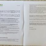 Elternbrief - Notbetreuung - Vorschulkinder