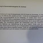 ANMELDUNG FÜR 2021/22